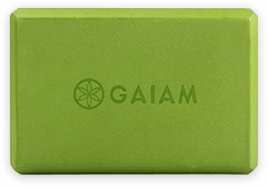 Yoga block by Gaiam