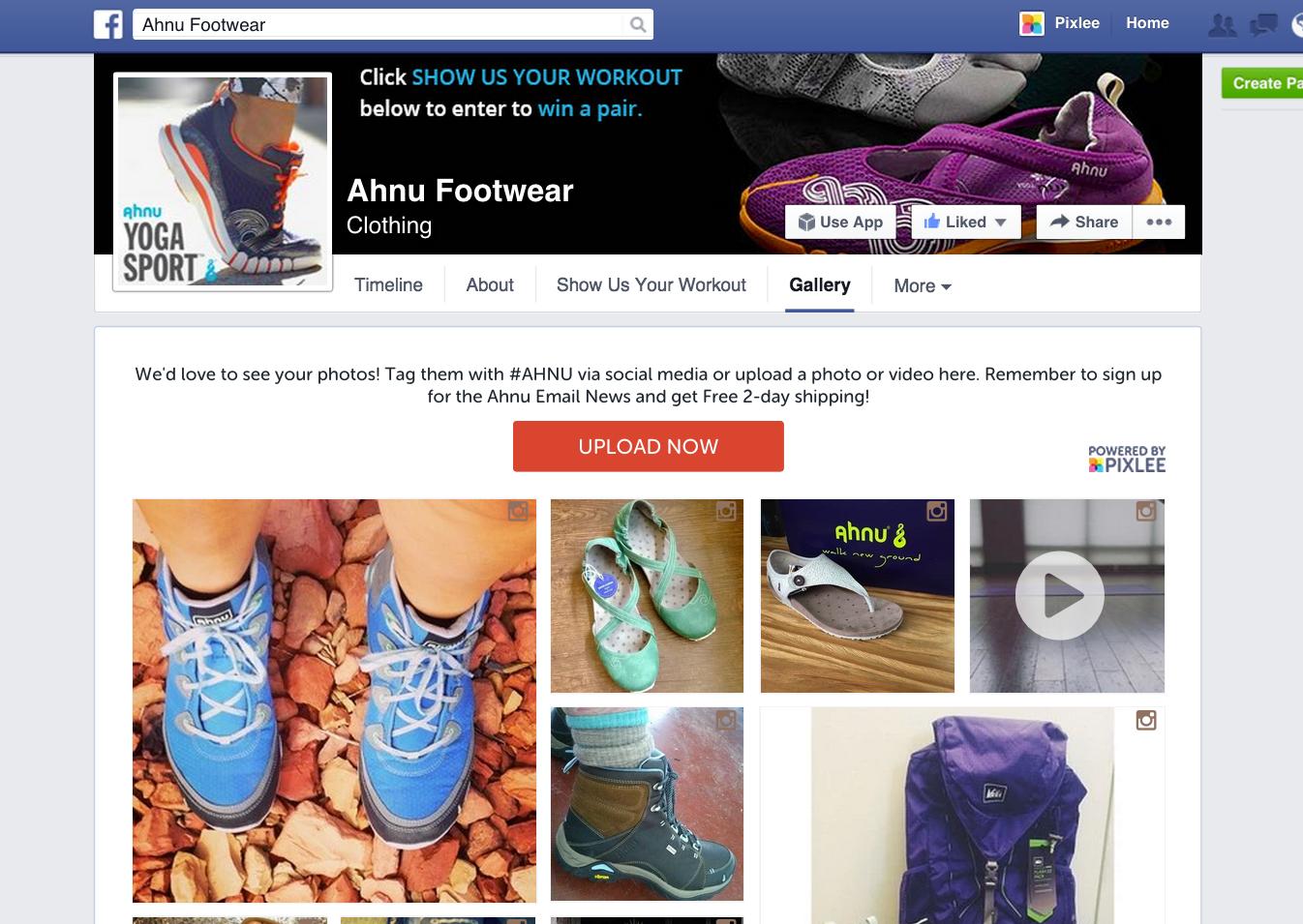 Ahnu Has a very popular facebook page
